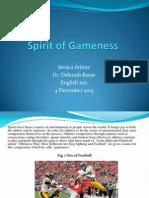 Spirit of Gameness 2