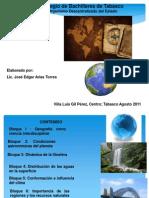 Diapositivas de Todo El Programa de Geografia