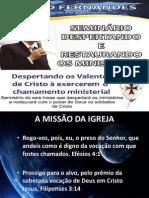 Despertando e Restaurando os Ministérios MÓDULO 3