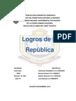 Logros de La Republica