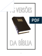 As Versoes Biblia