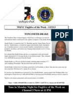 WKYC Fugitive of the Week