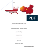 International Trade Law Contract Elements
