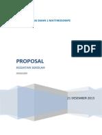 Proposal Kegiatan Sekolah