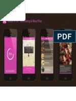 UM Dining & Meal Plan Mobile Mockups
