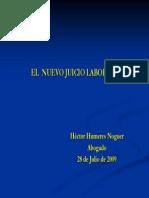 Juicio Laboral 2009