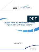 Plan de Consolidacion Fiscal (Documento)