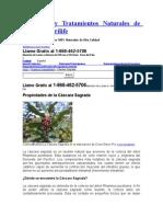 CASCARA SAGRADA Productos y Tratamientos Naturales de Codeco Nutrilife