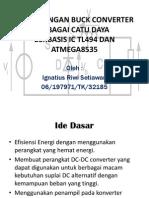Presentasi pendadaran about DC/DC converter