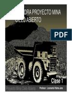 Clase 1 - Catedra Proyecto Rajo II Semestre 2013