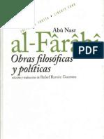 al farabi, obras filosófico políticas