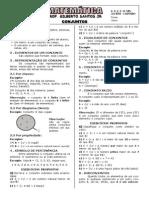 Apostila de Conjuntos (6 páginas, 36 questões)