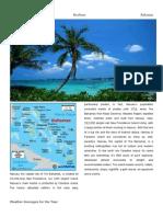 travel brochure bahama anna kainuma docx