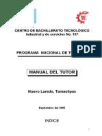 Manual Del Tutor