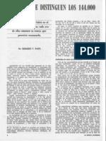 Gerhard F. Hasel - [Por Qué se Distinguen los 144,000]