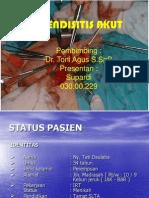 Presentation apendisitis.ppt