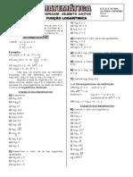 Apostila de Função Logarítmica (5 páginas, 35 questões)