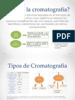 Que es la cromatografía