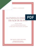 La Franquerie de Marquis - Ascendances Davidiques Des Rois de France