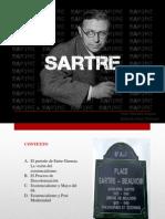 Jean Paul Sartre Exposicion