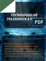 4.3 Tecnologias de Tolerancia Ahora Si