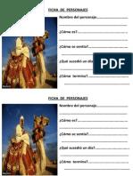 Ficha de Personajes Camello