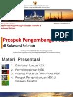 Prospek Pengembangan Kawasan Ekonomi Khusus di Sulawesi Selatan
