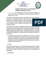 informe pedaggico del proyecto entre pares