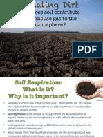 soil respiration