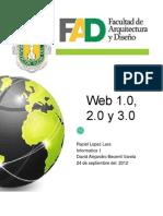 web 1.0, 2.0 y 3.0