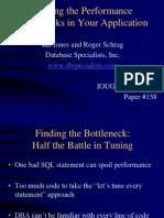 Finding Bottlenecks