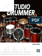 Studio Drummer Manual Spanish