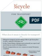 bicycle for transport