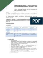 Resumen -NOM 073, Estabilidad-Angy