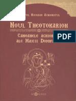 Sf Nicodim Aghioritul_Noul Theotokarion - Canoanele Aghioritice Ale Maicii Domnului
