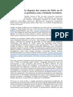 A relevância da disputa dos rumos do PSOL no IV Congresso - uma polêmica com a Unidade Socialista