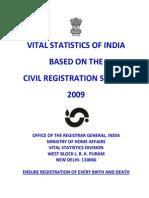 CRS Report 2009