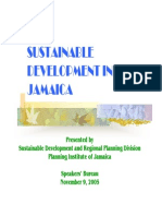 Sustainable Development in Jamaica