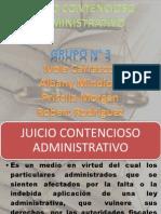 Exposicion Grupo No 3 Adm Juicio Contencioso