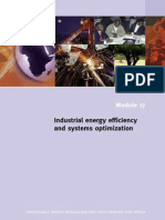 Industrial Energy Efficiency and System Optimization