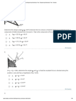 Online Engineering Mechanics Test - Engineering Mechanics Test - Random