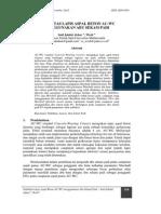 Stabilisasi Laston AC_WC Dengan Menggunakan Abu Sekam Padi