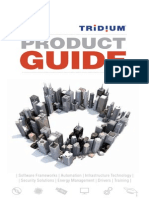 2013 Tridium Product Guide
