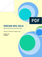 My Personal Financial Plan Diary 2014