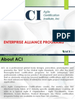 Agile Certification Institute (ACI) Corporate Programs