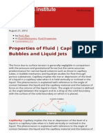 Properties of Fluid _ Capillarity_ Bubbles and Liquid Jets _ Prof Rao's Notes