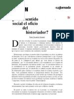 La Jornada_ ¿Tiene sentido social el oficio del historiador_