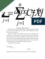 Program Linier Dualitas