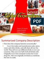 global corporations ppt