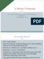 nissan motor company ppt